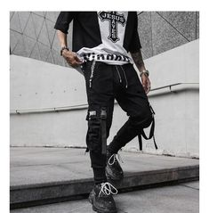 Punk Outfits, Urban Outfits, Grunge Outfits, Trendy Outfits, Girl Outfits, Black Outfits, Style Streetwear, Japanese Streetwear, Aesthetic Grunge Outfit
