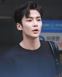 He has that thing called passion Korean Men, Korean Actors, Chani Sf9, Fnc Entertainment, Cha Eun Woo, Kdrama Actors, Fine Men, Korean Drama, My Idol
