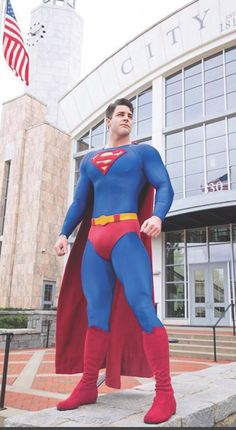 Superman Cosplay, Superman Costumes, Gay Costume, Cosplay Costumes, Batgirl, Supergirl, Dc Heroes, Gorgeous Men, A Good Man