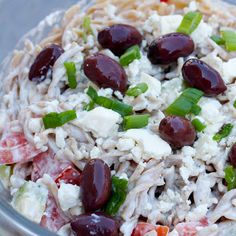 Fast and soooo Good! Creamy Greek Pasta Salad ~ Mmm...is for Mommy