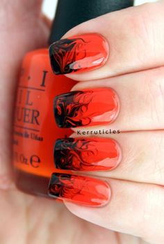 40 Halloween Nail Art Designs and Ideas