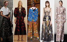 Trend Pre-Collezioni Autunno-Inverno 17-18: Floral Prints - Vogue.it