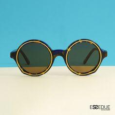 Essedue Sunglasses Handmade and Designed in Italy Circle Sunglasses, Circle Design, Handmade Design, Italy, Italia