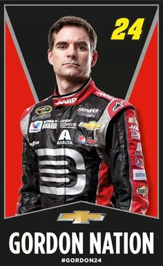 Jeff Gordon Nation. Proud to be part of it!!