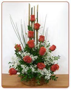 Resultado de imagen para rosas en adornos florales artificiales #Adornosflorales