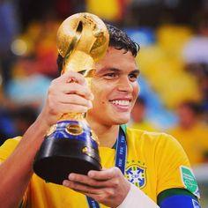 Thiago Silva  Confederations Cup  Brazil 2013