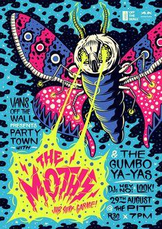 The Moths Poster on Behance