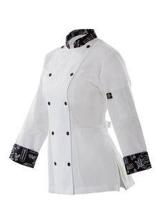 Waiter Uniform, Restaurant Uniforms, Staff Uniforms, Work Attire, Preppy Style, Clothing Patterns, Work Wear, Chef Jackets, Shirt Designs
