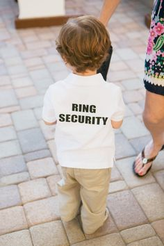 ideas for flower girls and ring bearer | It's VERY important to ask the parents before giving any kids candy ...