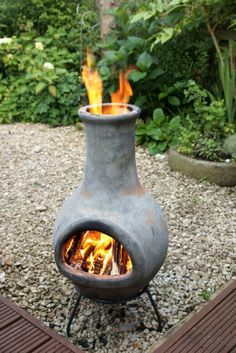 Chimineas..LOVE THEM Images On Pinterest | Bonfire Pits, Campfires And  Outdoors