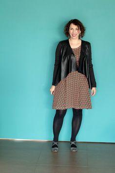 Une nouvelle robe Moneta pour le printemps - Avril sur un fil