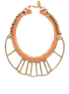 lizzie fortunato a frame necklace