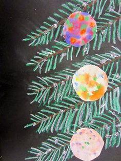 Maro's kindergarten: Ιδέες για Χριστουγεννιάτικες κατασκευές - Chistmas tree craft