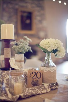 Shabby Chic Tablescape. Absolutely adore this.