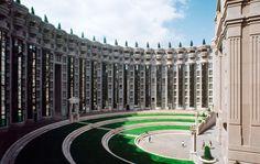 Les Espaces Abraxas Marne la Valle Paris France Ricardo Bofill Taller Arquitectura