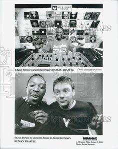 "2000 Press Photo  ""Human Traffic"" Shaun Parkes & John Simm"