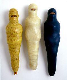 Mummified Barbies