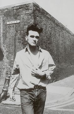 "Whenever I tell people my name, they more than likely ask me ""did you say your my name was Morrissey?"""