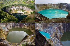Three color lake is located in Mount Kelimutu, Flores, NTT. There were three adjacent lakes but with different colors. Crater Lake is Tiwu Ata Polo (red lake), Tiwu Nua Muri Kooh Fai (green lake) and Ata Tiwu Mbupu (blue lake). Lake Flores is the only lake in the world in which the water may change at any time, from red to dark green and maroon, dark green to light green, dark brown to blue sky. This natural phenomenon is a miracle.