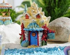 Miniature Beach Garden Seashell Coral House