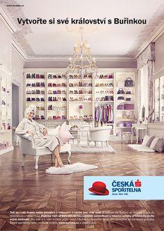 Česká Spořitelna - Build Your own Kingdom on Behance