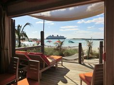 Cabana days on Castaway Cay (More Mouse) by Adrienne Vincent-Phoenix