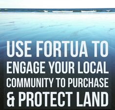 Engage your local community to purchase & protect land and/or create trails for all to enjoy!