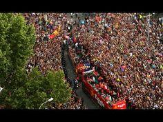 FOOTBALL -  FC Barcelona -- League champions parade - http://lefootball.fr/fc-barcelona-league-champions-parade/