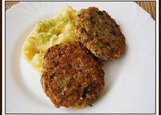 Vaječné řízky(placičky) Mashed Potatoes, Ethnic Recipes, Food, Whipped Potatoes, Smash Potatoes, Essen, Meals, Yemek, Eten