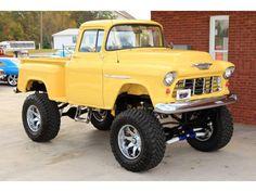 Custom Pickup Trucks, Chevy Pickup Trucks, Classic Chevy Trucks, Gm Trucks, Chevrolet Trucks, Lifted Trucks, Classic Cars, Pick Up 4x4, Chevy Stepside