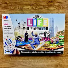 The Game of Life Twists and Turns Edition 100 Complete VGC Age 8 MB Games 2007 for sale online Game Title, Game Sales, Dice Games, Educational Games, Family Games, Game Character, Twists, Party Games, Board Games