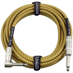 15 Feet CBI Ultimate Series 1//4 TRS to 1//4 TRS Guitar Instrument Cable
