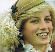Diana looking so happy & beautiful here while on a visit to  New Zealand in 1983 with Prince Charles.