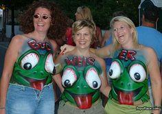 Budweiser Frogs