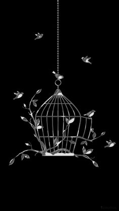Birds, Ceiling Lights, Pendant, Black, Minimalist Chic, Change Of Life, Wallpapers, Black People, Hang Tags