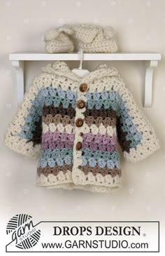 Cozy Cuddle   DROPS Baby 14-25 - Free crochet patterns by DROPS Design bc8e73507ca