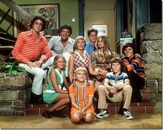 The Brady Bunch.....  I LOVE & STILL watch The Brady Bunch!! I would get home from school and watch it the brady bunch and bewitched