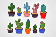 regram @hnmarkets From doughnuts to cacti @JamJar_shop will bring a smile to your face.  Exhibiting with a range of temporary tattoos nail transfers stickers and cards. View the full exhibitor line up by following our profile link  Handmade Nottingham Market 14th July at @maltcross  #hnmarkets #cacti #plants cactus #illustration #market #craftfair #nottingham #nottinghammarket #nottinghamcraftfair #lovenotts #itsinnottingham #itsinnotts