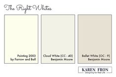 » What is the Right Interior White?Karen Fron Interior Design | Calgary