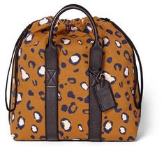 3.1 Phillip Lim for Target Leopard Print Drawstring Carryall Bag - 3.1 Phillip Lim for Target Tan #sponsored #ad #paid   Thank you Target for sponsoring today's post. Leopard Print Bag, Bags Travel, Carry All Bag, Printed Tote Bags, 3.1 Phillip Lim, Large Tote, Women's Accessories, Fashion Backpack, Target