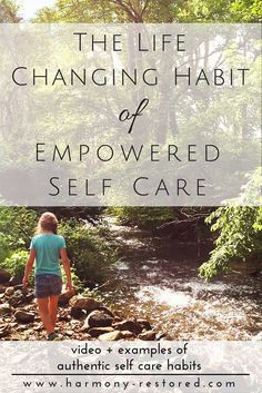 Loving ourselves cannot be used as an excuse for going on junk food binges (or any other unhealthy habit).  When we truly love and accept ourselves, we are able to break away from the fear, the patterns, and the dependency that drive unhealthy habits. What are some truly empowering self care habits? Find out more at the blog! The changing habit of empowered self care.
