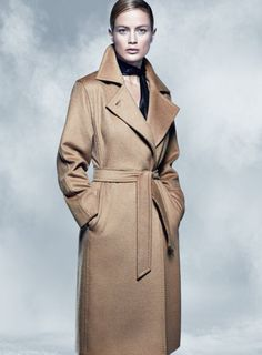 Ad Campaign: Max Mara Fall Winter 2014-2015 Model: Carolyn Murphy