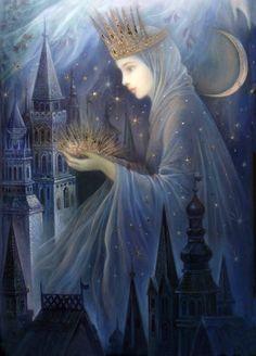 """Day and Night (zoom 1)"" par Nadia Strelkina"
