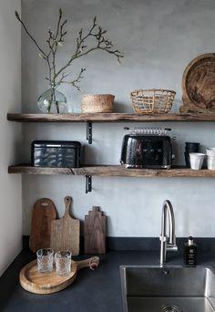 living room ideas – New Ideas Kitchen Living, New Kitchen, Nordic Kitchen, Kitchen Interior, Kitchen Decor, Industrial Style Kitchen, Küchen Design, Modern Design, Cuisines Design