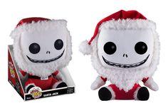 Mega Pop! Plush: The Nightmare Before Christmas - Santa Jack