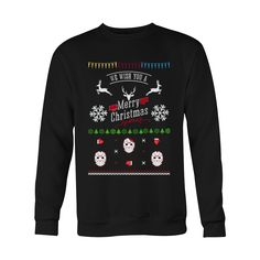 Merry Christmas - We Wish You Unisex Holiday Special Sweatshirt (3 colors)