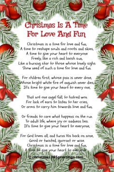 Many short Christmas poems are great pieces of artwork that convey deep meanings and significance. These artwork pieces usually describe winter setting and all things [. Xmas Poems, Merry Christmas Poems, Christmas Quotes, 12 Days Of Christmas, A Christmas Story, Christmas Ideas, Christmas Decor, Christmas Program, Christmas Games