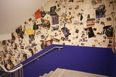 Marc Berenson sent us some snaps of magazine wallpaper he spotted at Steiner Studios at the Brooklyn Navy Yard.