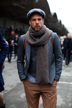 ハンチング・キャスケットの着こなしとコーデ | メンズファッションスナップ フリーク