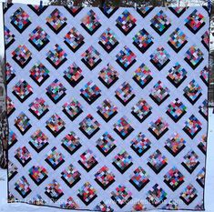 Shadow Point Free Quilt Pattern